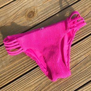 Anthropologie Tori Praver Hot Pink Swim Bottoms